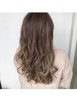 ヘアー スペース オフ(Hair Space Off)白髪染めの外国人風カラー
