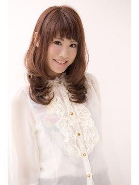 ハナブサ バイ アフロート 田上店(HANABUSA by afloat)髪&顔周りのカットで小顔に見せるワンカールレイヤーヘア