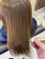 ヘアアンドメイクグラチア(HAIR and MAKE GRATIAE)ホホバオイル配合縮毛矯正☆