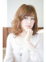 ヘアーリゾート ラヴィニール 新宿東口店(Hair Resort L´avenir)ミディアムデジ_新宿