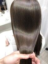 アヴァンス クロス メルシー 西梅田店(AVANCE CROSS melc)艶髪×ノンダメージカラー×ホリスティックカラー×70s