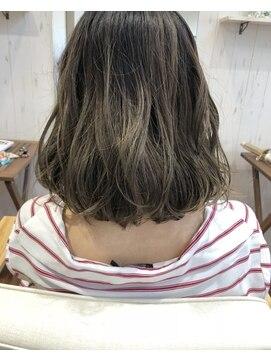 ヘアーアンドネイルアンカーバイラフ(Hair & Nail anchor by Laf)シルバーグレージュ☆