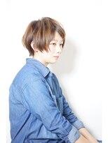 エトネ ヘアーサロン 仙台駅前(eTONe hair salon)【eTONe】耳が出ないぐらいのショート