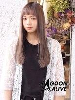 LAGOON ALIVE 新田希望 1220 ☆ツヤさらストレートスタイル☆