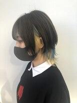 ドォート(Dote hair make)【林's】ボブルフ インナーカラー