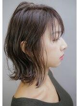 ハマユミバ(HAMAYUMIBA beauty salon)ロブの外はね