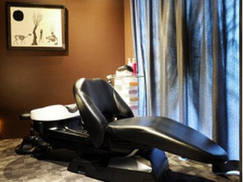ビグディーサロン(BIGOUDI salon mukonosou)の写真/まるで別次元!完全個室スパブース完備◇自分だけの上質空間で、ゆったりとしたひとときをお過ごし下さい―