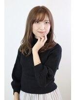 ロアール 楠(LOAOL KUSUNOKI)グレージュ ミディアム
