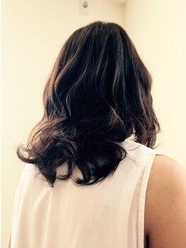 ハレ ヘアー メイク(hale hair make)の写真/時短!!ダメージレス!!しっかりパーマがかかる!!乾かすだけでパーマが出るから毎日のお手入れもラクラク♪