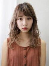アミヘアーサプライ(AMI Hair Supply)小顔ミディアム/ダブルカラーミルクティーベージュ/ケアブリーチ