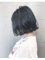 バンクスヘアー(BANK'S HAIR)切りっぱなしbob、ブルーブラック