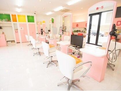 美容室ママファミリー ハローパーク周船寺店の写真