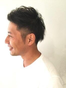 ロア ヘアーアンドビューティー(LOA hair&beauty)の写真/【小倉駅徒歩3分】便利な立地と居心地の良さが人気!!メンズリピーターも多い隠れ家的サロン《LOA》