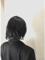 キャラ 池袋本店(CHARA)洗いざらし風グレージュボブ【キャラ池袋・大西】
