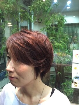 ガーデン ヘアー ワーク(garden hair work)愛され小顔ショート from garden