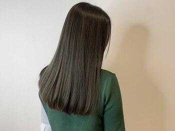 カロン(Calon)の写真/《髪質改善*》うねり知らずの柔らかい髪を求める方!プライベート空間であなたの髪悩みに向き合います*