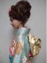 盛り髪(盛りヘア)のフェミニン・盛りヘアアップ画像