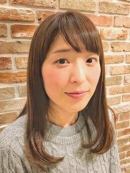 トモリヘアルーム (tomori Hair room)の写真/ストレート+毛先カールで憧れのヘアスタイルに☆スタイリングが楽しくなる!ルフォール+ココカール☆