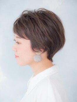 アーサス ヘアー デザイン 北千住店(Ursus hair Design by HEADLIGHT)の写真/【カット¥2700】一人一人のパーソナルに合わせたursusのカットは再現性・扱いやすさを実感できます☆