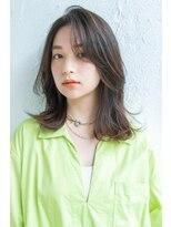 アンアミ オモテサンドウ(Un ami omotesando)【Unami】大人可愛い 色っぽミディアム ボブ 工藤 由佳