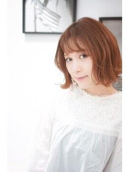 カスタード(Custard ushiwakamaru)の写真/ヘアスタイリングがしやすいカットが人気◎何でもご相談下さい★。+自分史上最大級の可愛いを手に入れて♪