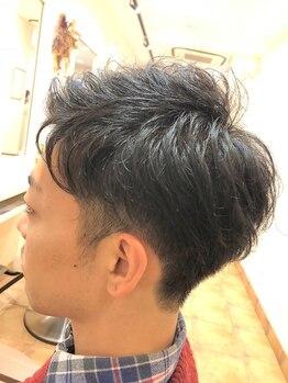 キタドコ パーソナルヘアスタイリストグループ 板橋店(kitadoko)の写真/スパで日頃の疲れを改善し頭皮も心もリフレッシュ!メンズカットも◎繊細なカットで似合わせヘアをご提案!