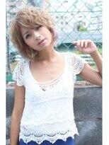 CAPSULE☆ショート/カラーエクステ/クリームアッシュ