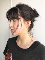 【ACA】シンプルシニヨンカジュアルアレンジ