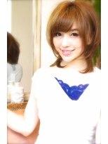 ギフト ヘアー サロン(gift hair salon)小顔・フェミニンマッシュ☆レイヤー (熊本・通町筋・上通り)