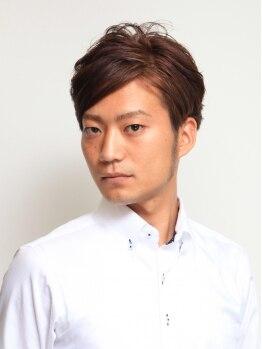 ヘアスタジオ コモ(HAIR STUDIO COMO)の写真/≪江古田駅南口3分≫男性も気軽に通いやすい、落ち着いた雰囲気が魅力☆毎朝のスタイリングも楽々に♪