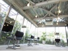 ティースタイル(hair salon t-style)の雰囲気(シンプルな空間で灯る、やわらかな光のバランス。)