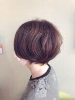 ライフヘアデザイン(Life hair design)前髪長めの大人ショート