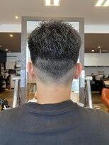 【#黒髪ベリーショート】×ツーブロックスタイル