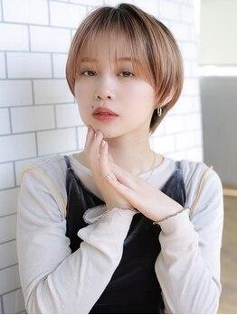 アグ ヘアー ルフレ 栗東店(Agu hair reflet)の写真/【カット¥2200】360度どこから見ても綺麗なシルエットで毎朝のStylingも簡単!そして何よりも可愛いStyle♪