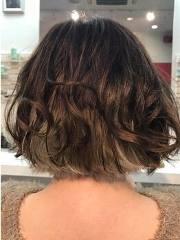 グリュック Hair Make GLUCKの写真/【花巻】敏感肌の方でもOK!ナシードカラーは頭皮&髪にダメージレス…感動のツヤ感&手触りが叶う*