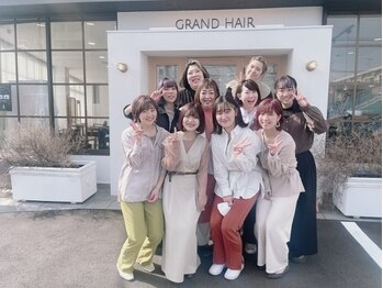 グラン ヘアー(GRAND HAIR)の写真/《星が丘》同性だから分かり合えるこだわり、ライフスタイル、悩みを解決いたします!