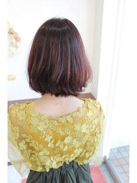 ジップヘアー(ZipHair)Zip Hair ★切りっぱ×ピンク★