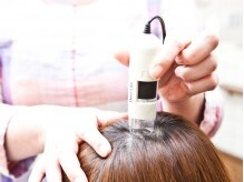ヘアデザイン エアリー(Hair Design airy)の雰囲気(頭皮診断で徹底分析!!普段見られない頭皮を見られるので面白い☆)