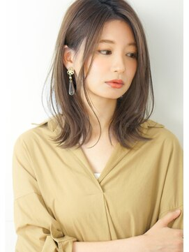 ルエ(rue)【rue京都】大人可愛いゆるふわ愛され髪◎ヌーディーベージュ