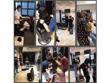 バトヘアー 渋谷本店(bat hair)の雰囲気(毎月1回の撮影会でスキルUP!!(渋谷/美容室/人気/bathair) )