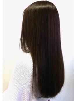 ウィッシュの写真/お気に入りのカラーも傷んだ髪だと台無しに…。毛髪診断士のスタッフが髪質をしっかりチェック!