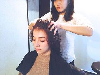 ヘアーラウンジ ピーエーエー(hair lounge PAA)の写真/《高濃度マイクロバブルスパ》を無料でもれなくサービス!「本当に気持ち良い」人気のヘッドスパ☆