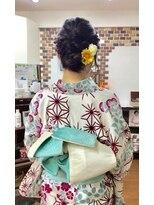 サロンド クラフト(salon de craft)【浴衣】大人可愛い浴衣スタイル♪