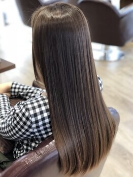 シエル (CIEL)の写真/【天六/天神橋】TOKIO/Aujuaなど髪質改善に特化した<最新トリートメント>取扱!ひどく傷んだ髪も潤う美髪に*