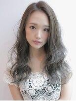 《Agu hair》アッシュカラーで涼しげ夏ウェーブ