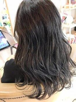 ルーナ ヘアラウンジ(Luuna hair lounge)の写真/≪大人気/THROWカラ-≫【ロング料金無】似合わせカット+THROWカラ-¥8960/アレンジした際のニュアンス感も◎