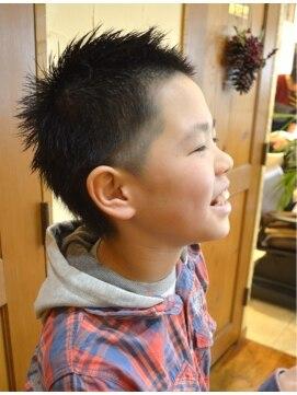 髪型 小学生 男子 人気 髪型 : beauty.hotpepper.jp