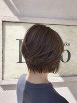 ヘアアンドメイク デコ(Hair&Make Deco)ハイライト&ローライトを効かせたショートボブ