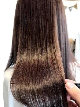 ブリッジ(the BRIDGE)の写真/【the BRIDGEで憧れの艶美髪に―】話題の最新〈髪質改善トリートメント〉がお得にお試し可能♪