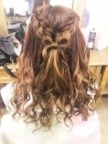 ヘアセットサロン アトリエ チャイ(Hair set salon atelier CHAI)ふわふわガーリーアレンジ♪